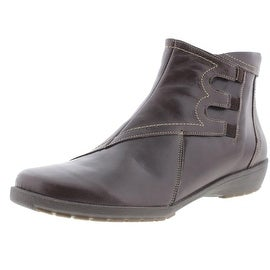 Spring Step Womens Viking Leather Contrast Stitching Chukka Boots - 42