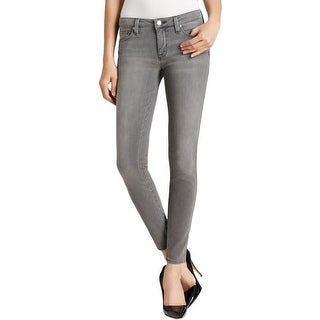 Genetic Womens Shya Skinny Jeans Denim Low-Rise