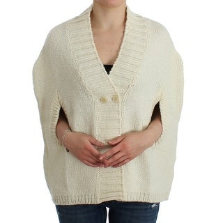 Costume National Costume National White knitted cardigan - M