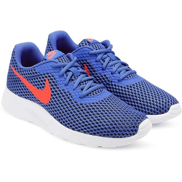 size 40 52ff6 85abb Nike Mens Tanjun Se Racer Blue White-Total Crimson 844887-404 (12