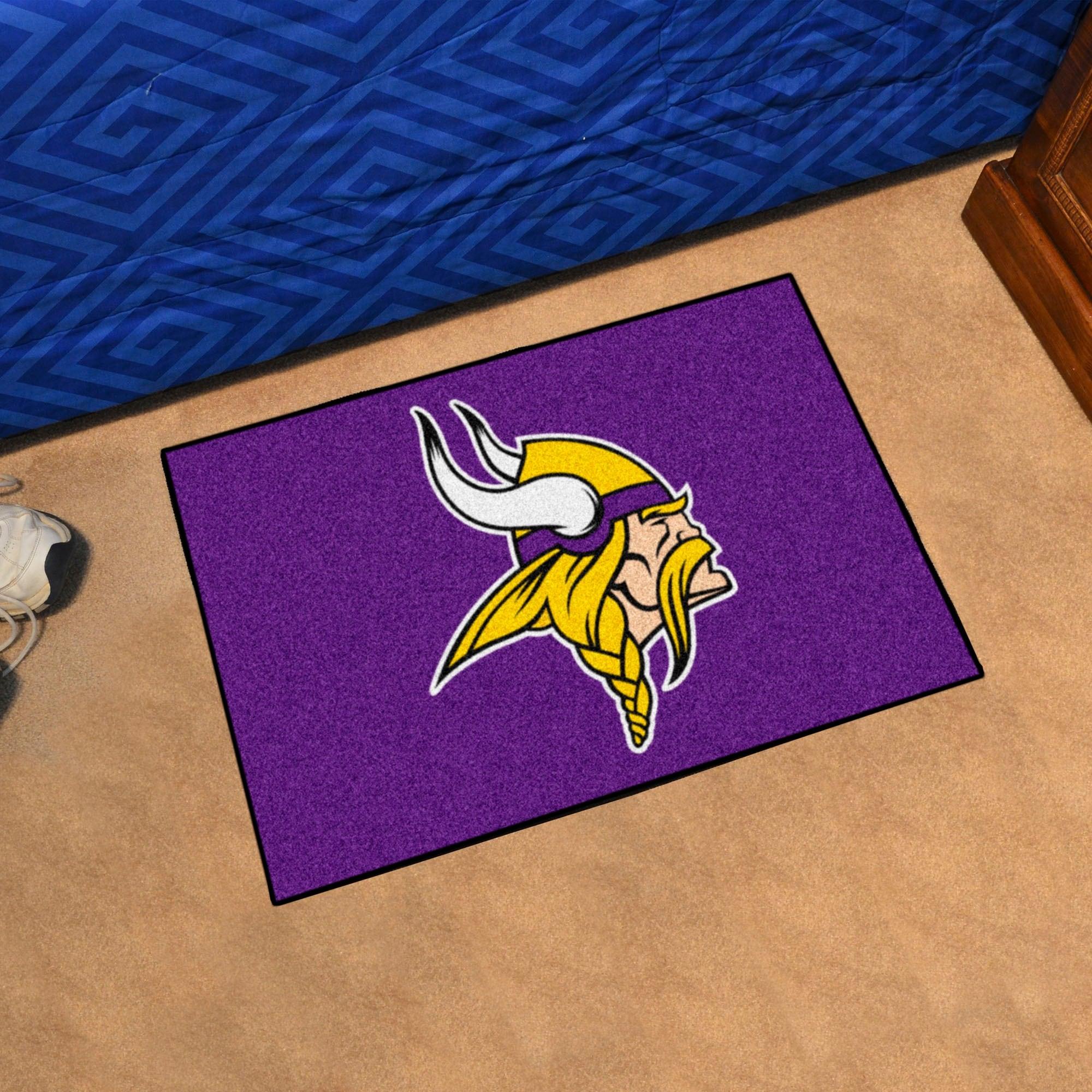 Nfl Minnesota Vikings Rug 19in