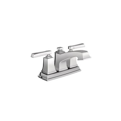Moen 6010 Centerset Bathroom Faucet With Metal Pop Up Drain Embly