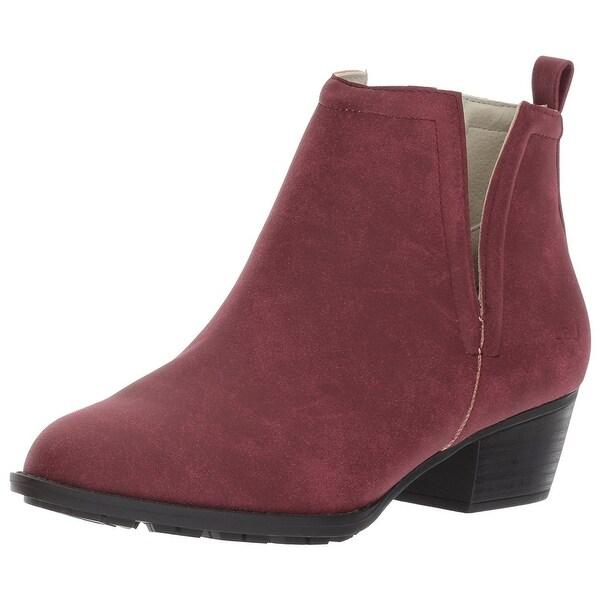 JBU Womens Parker Closed Toe Ankle Fashion Boots