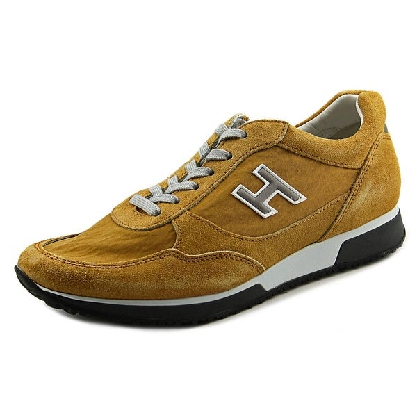 Hogan H2090p211UL7l405 Men Tan Sneakers Shoes