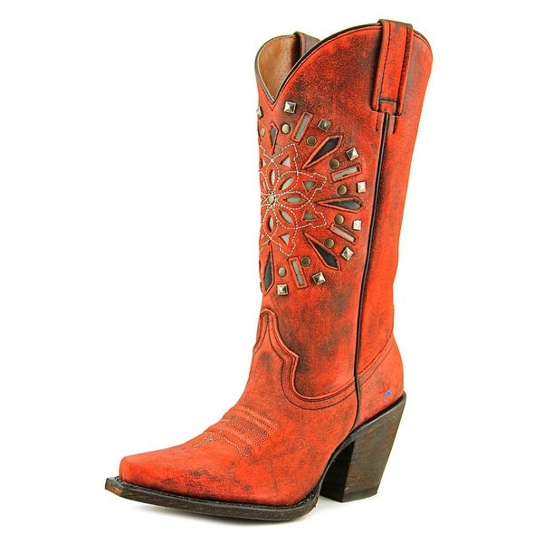 Redneck Riviera American Dreamcatcher Pointed Toe Leather Western Boot