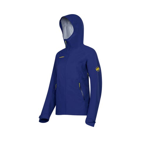 Mammut Ebba Jacket Women - Hard Shell, Waterproof Breathable, DryTech XS-L - Black