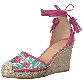 Ivanka Trump Womens Wadia3 Suede Closed Toe Casual Platform Sandals