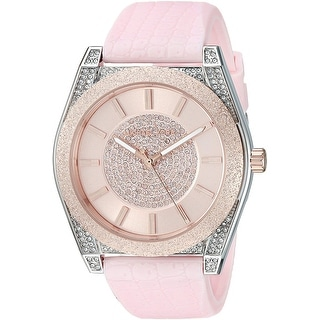 Link to Michael Kors Women's MK6704 Channing Pink Stainless Steel Watch Similar Items in Women's Watches