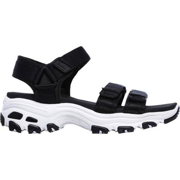 Shop Skechers Women's D'Lites Fresh Catch Ankle Strap Sandal