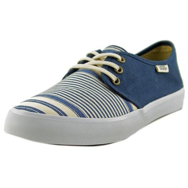 fe999227b1 Shop Vans Tazie SF Women Round Toe Canvas Blue Sneakers - Free ...