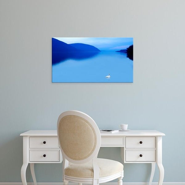 Easy Art Prints James McLoughlin's 'Scene on the Water IV' Premium Canvas Art