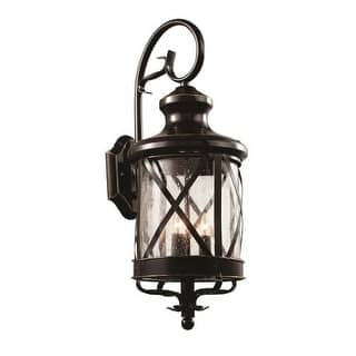 Trans globe lighting outdoor lighting for less overstock trans globe lighting 5122 four light up lighting outdoor wall sconce from the outdoor collection aloadofball Gallery