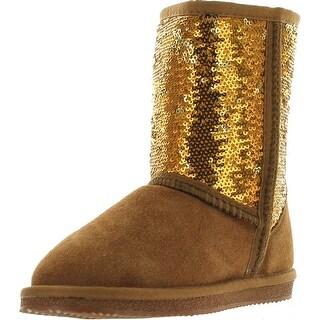 Dije California Girls Sequin Sheepskin Classic Boots