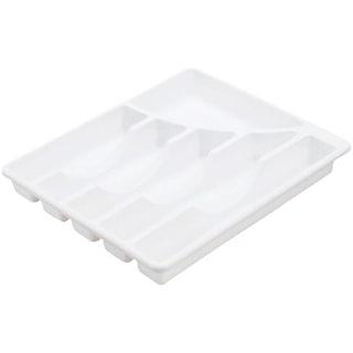 Sterilite Corp. White Cutlery Tray 15758006 Unit: EACH