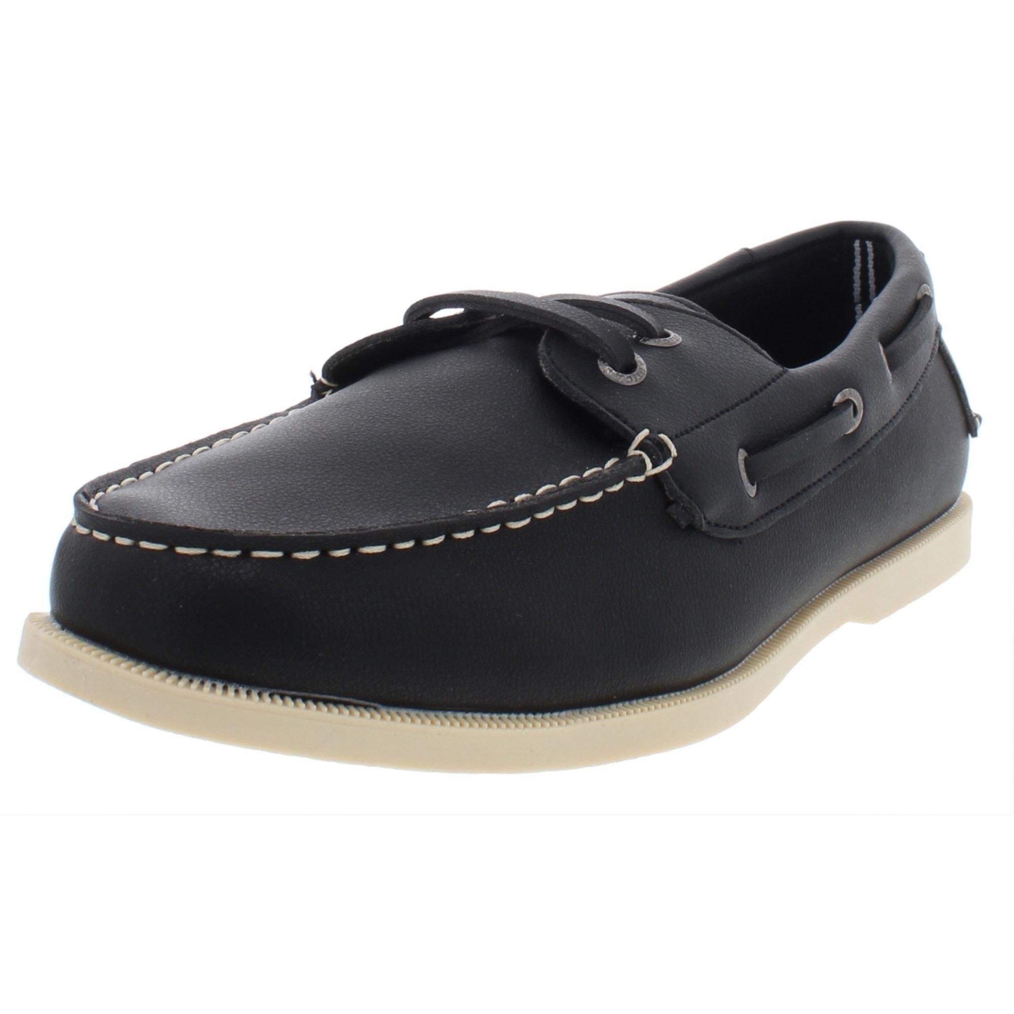 Nautica Mens Nueltin Boat Shoes Faux