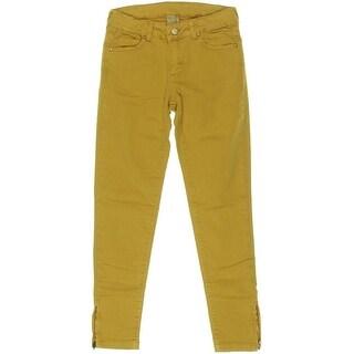 Zara Girls Mid-Rise Colored Skinny Jeans - 9/10