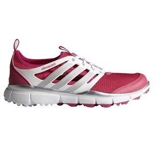 Adidas Women's Climacool II Raspberry/White/Silver Golf Shoes F33303 (More options available)
