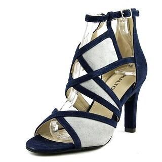Rialto Ria Open Toe Synthetic Sandals