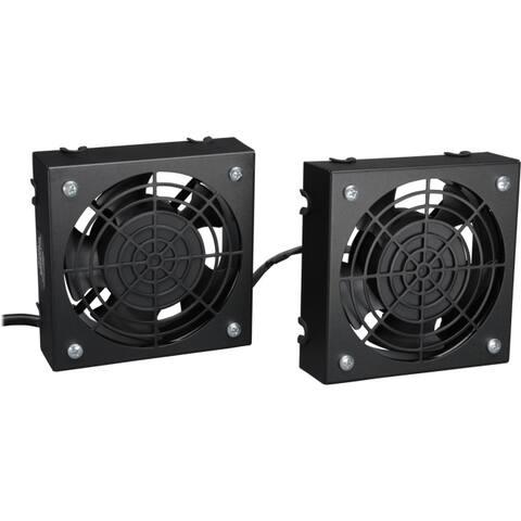 Tripp lite srfanwm wall-mount roof fan kit, 120v (2 high-performance fans; 5-15p plug)