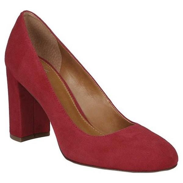 705669fed11b Shop Sarto by Franco Sarto Women s Aziza Pump Cherry Kid Suede - On ...