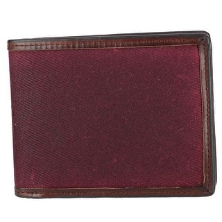 The British Belt Company Men's Langdale Waxed Twill Bifold Wallet - One size