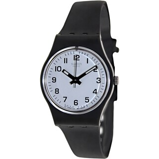 Swatch Women's Originals LB153 White Rubber Quartz Fashion Watch
