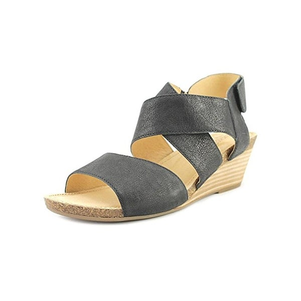 Adam Tucker Me Too Womens Toree4 Wedge Sandals Open Toe Criss Cross