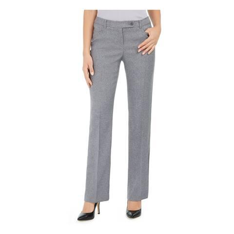 ANNE KLEIN Womens Gray Pants Size 6