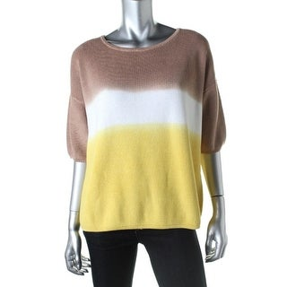 No. 21 Womens Pullover Sweater Ombre Crew Neck - 48