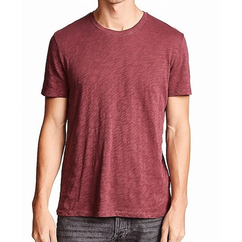 ATM Mens T-Shirt Heather Red Size Small S Crewneck Short Sleeve Tee