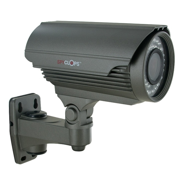 Spyclops BULLETG Indoor/Outdoor Uni-mount CCTV Bullet Security Camera Grey