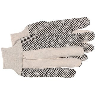 Boss 4011 PVC Dotted Palm Glove 8 Oz, Large