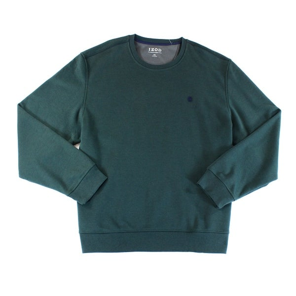 1c601aaac94191 Shop IZOD NEW Dark Green Mens Size Medium M Pullover Crewneck ...
