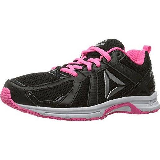 Reebok Womens Reebok Runner Mt, Coal/Black/Poison Pink/Wh