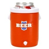 Beer The Drink Of Champions Beer Cozy - Multi