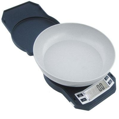 American Weigh Scales Lb-3000 Compact Digital Scale With Removable Bowl,  3000 By 0 1 G