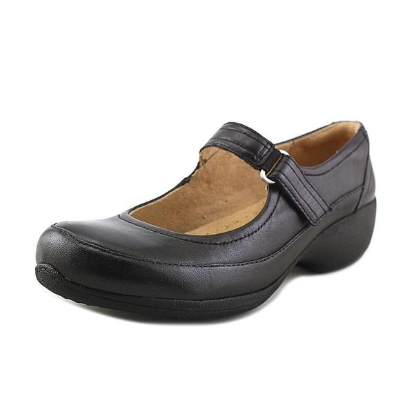aa4cb7389012 Shop Naturalizer Jessamy Women Round Toe Leather Black Mary Janes ...