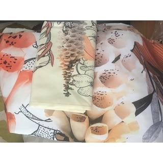 Iveta Abolina Lupines Cream Duvet Cover Set