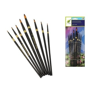 Multicraft Oriental Art Brush Set Round 8pc