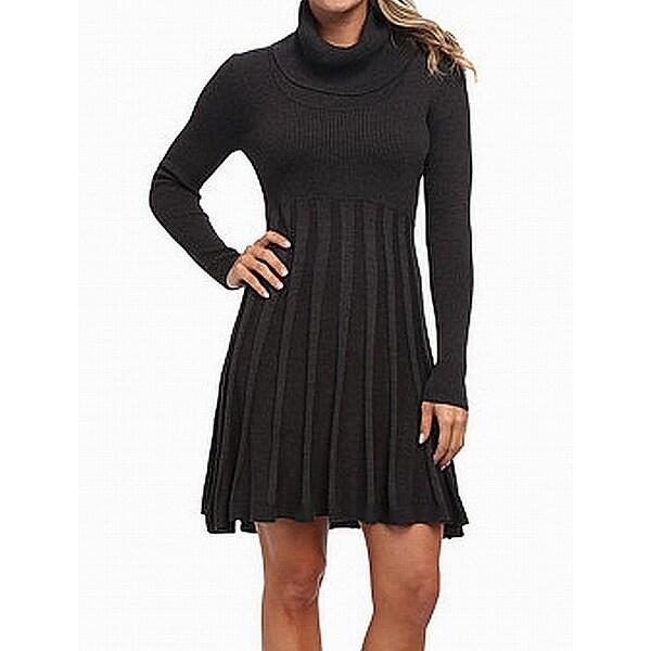 c424e1b57c Shop Calvin Klein NEW Gray Pleated Women s Medium M Cowl Neck Sweater Dress  - Free Shipping Today - Overstock - 21796815