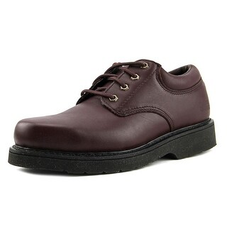 Work America Responder II Men Round Toe Leather Work Shoe