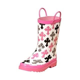Blazin Roxx Outdoor Boots Girls Kids WP Christian Pink