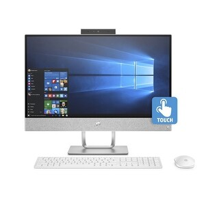"HP Pavilion 24-x010 AMD A9 8GB 1TB HDD 23.8"" FHD Touch Screen All-in-One PC (Certified Refurbished)"