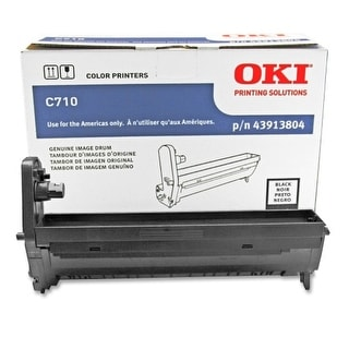 OKI  Drum Unit - Black 43913804 Oki Black Image Drum For C710 Series Printers - 30000 Page - 1 Pack