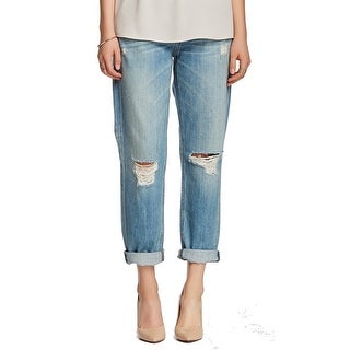 Rag & Bone NEW Blue Women's Size 26X28 Boyfriend Distressed Jeans