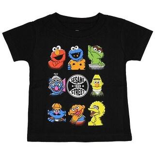 Sesame Street Baby Boys' Bunch Character T-Shirt