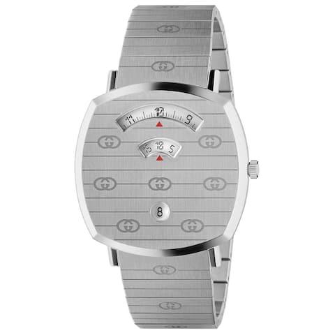 Grip Stainless Steel Bracelet Watch 38mm - N/A