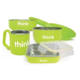 The Complete BPA-Free Feeding Set, Light Green thinkbaby 1 Kit