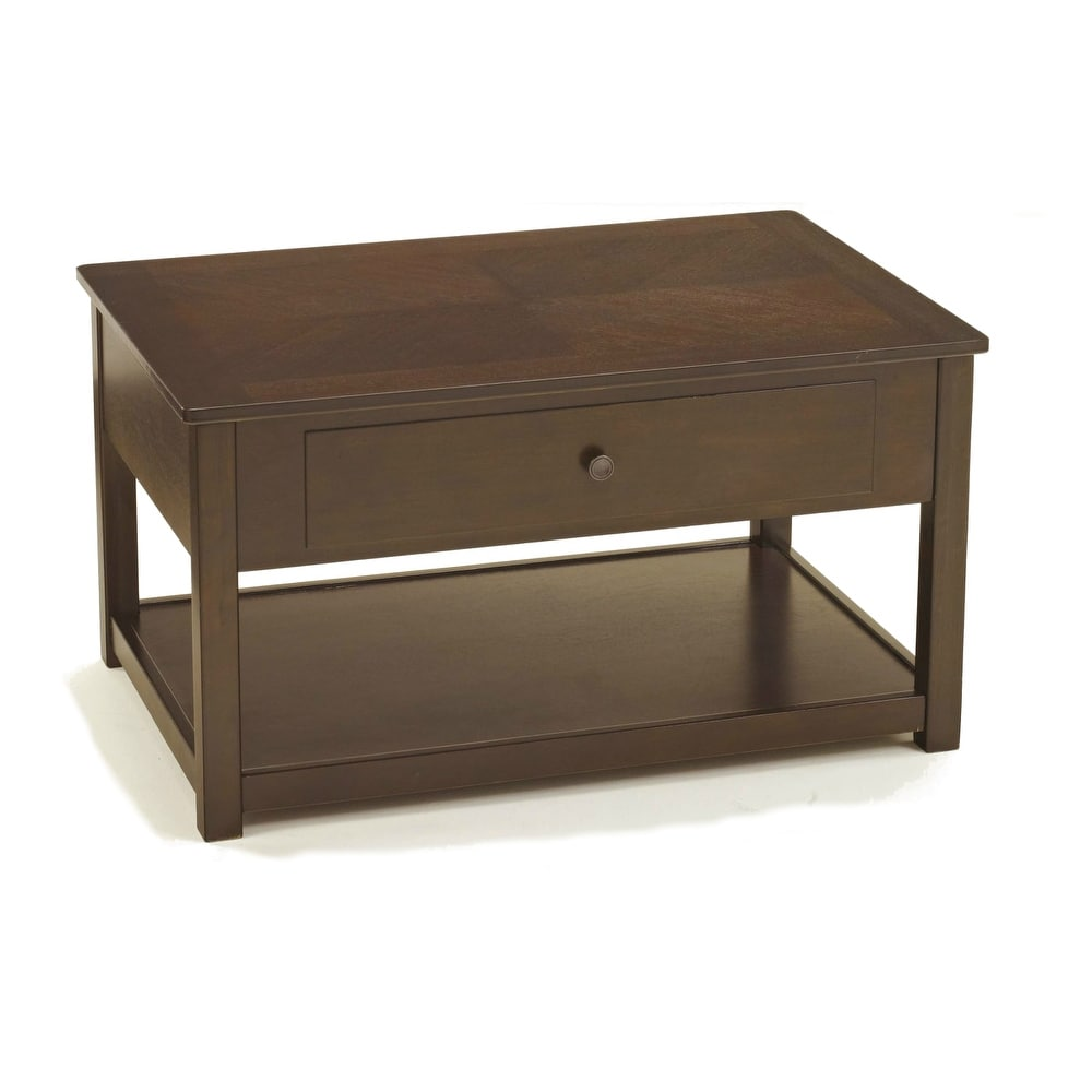 Stupendous Ashley T477 9 Dark Brown Marion Lift Top Cocktail Table W Hand Finished Creativecarmelina Interior Chair Design Creativecarmelinacom