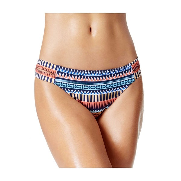 35cc6ab93e0 Jag Tribal Essence Strappy Side Retro Bikini Bottom Large Multi Womens  Swimsuit